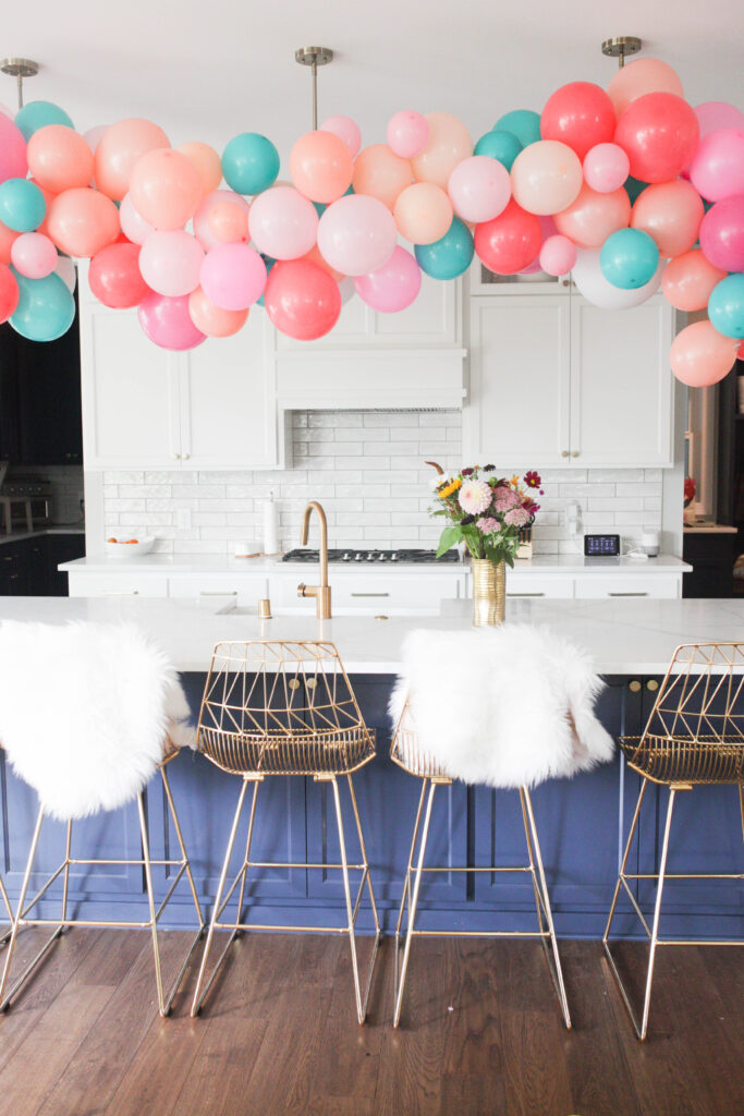 Favorite Things Party Balloon Garland