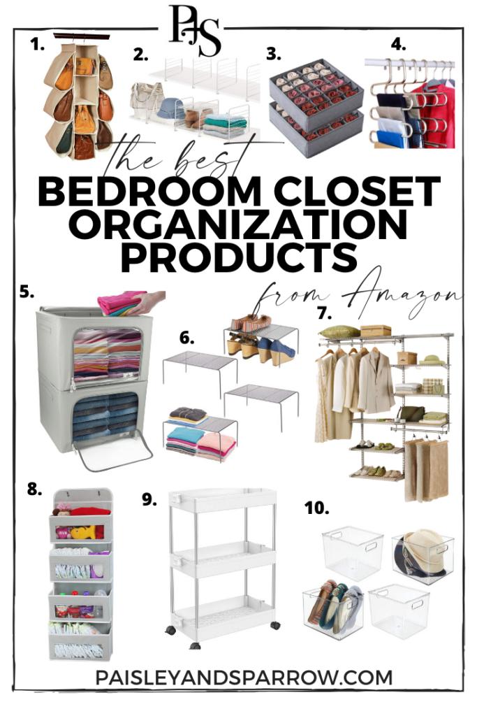 10 Amazing Bedroom Closet Organization Ideas