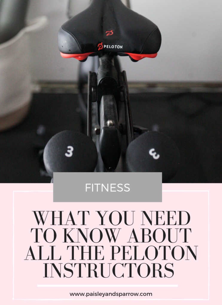 Peloton Instructors - What to Know & Whose Class to Take