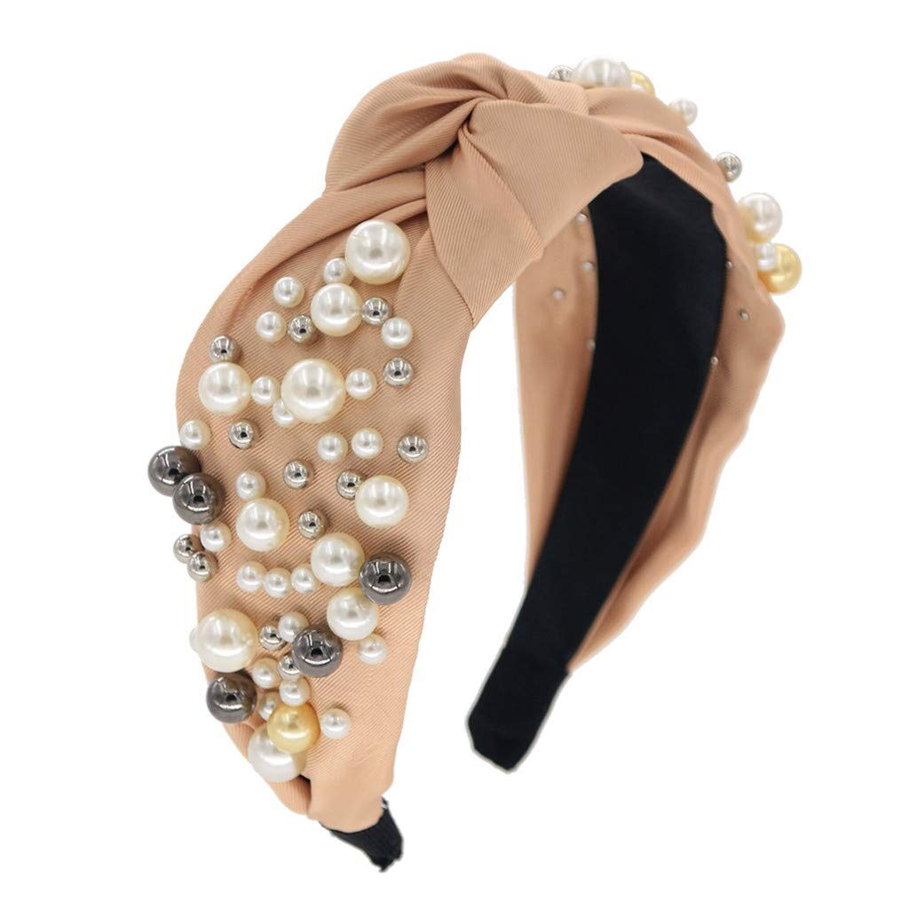 Champagne Pearl Headband