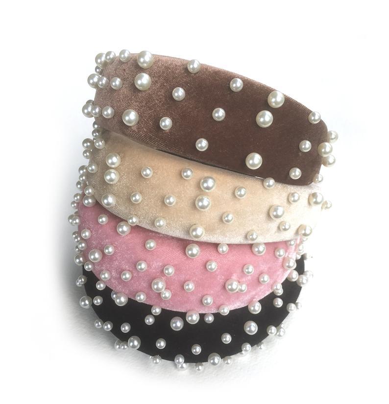 Padded Pearl Headband