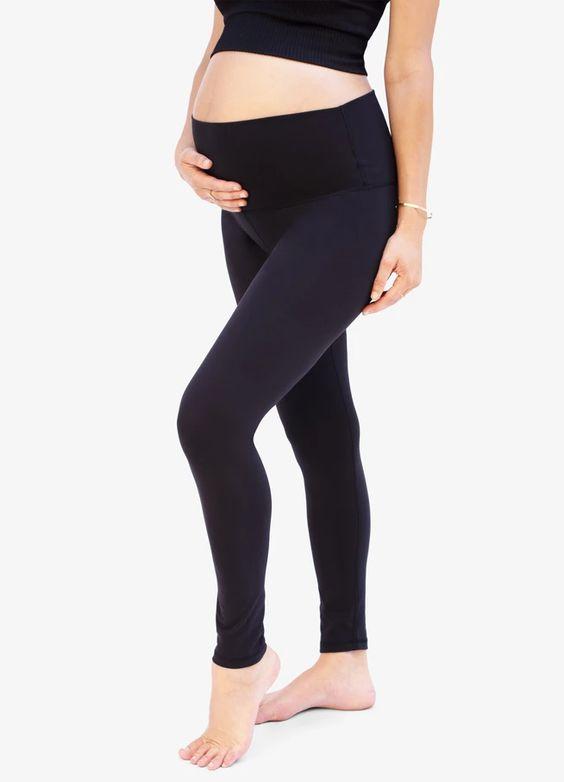 Best Under-Belly Maternity Leggings: Ingrid & Isabel