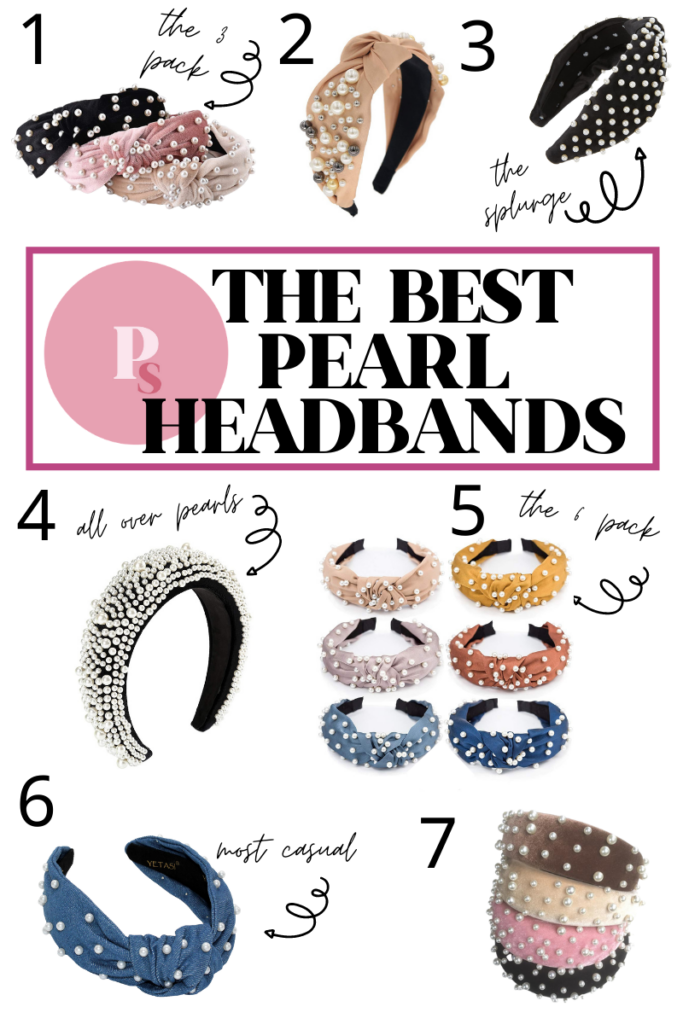 the best pearl headbands