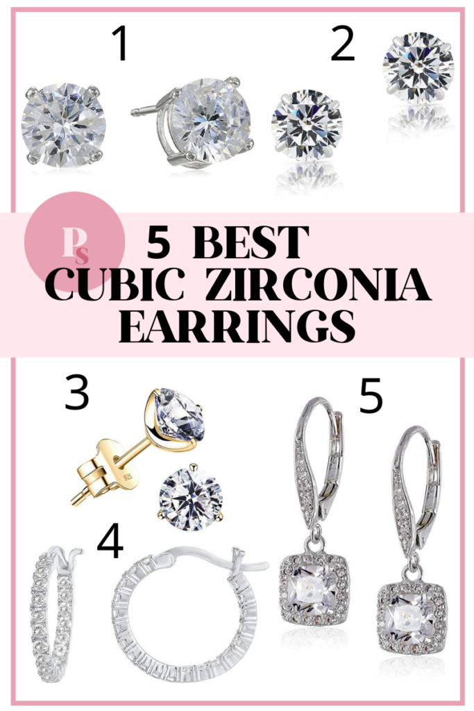 5 Best Cubic Zirconia Earrings