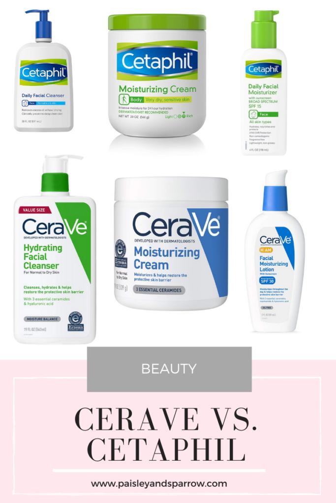 CeraVe vs. Cetaphil