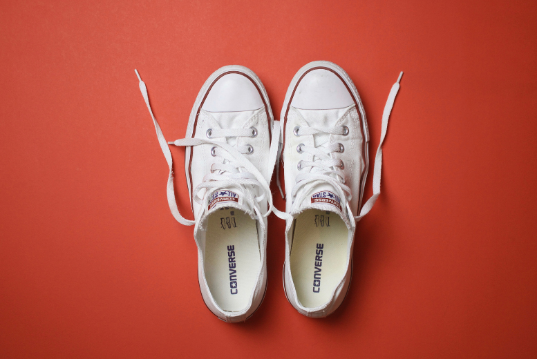 How to Clean the Rubber on White Sneakers