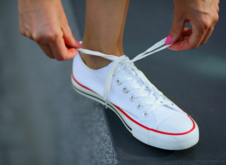 How to Wash Converse Laces