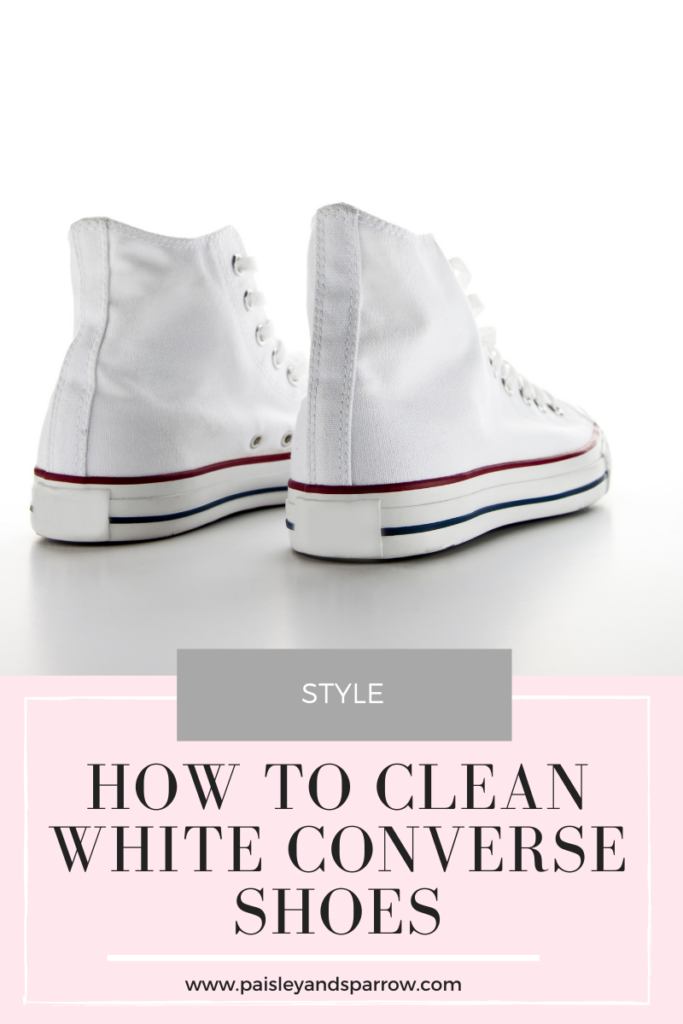 How to Clean White Converse Shoes (3 Effective Ways)