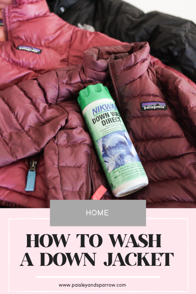 How to Wash Down Jackets