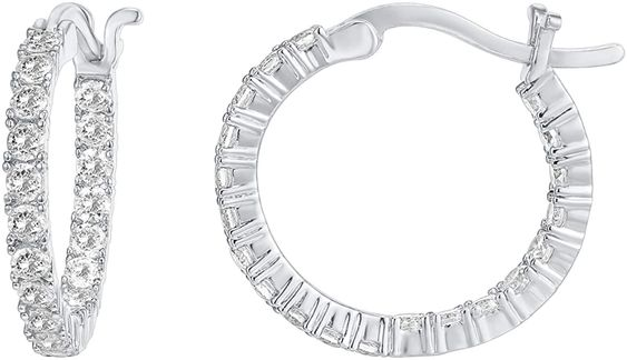 Best Hoop Cubic Zirconia Earrings