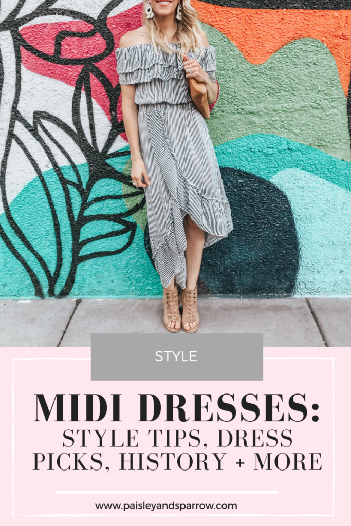 What is a midi dress?