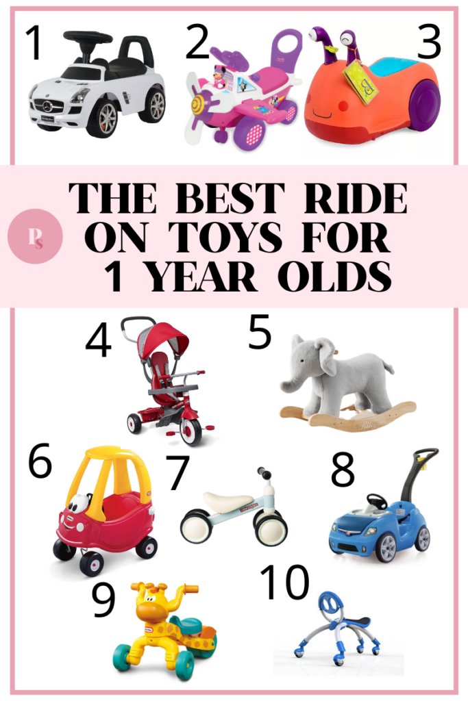 Best Ride On Toys for 1 Year Old (2021)