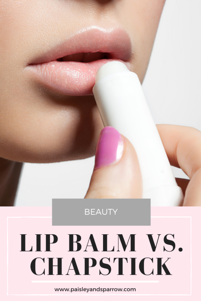 Lip Balm vs Chapstick: What's the Difference?