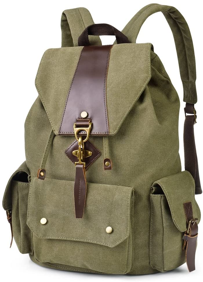 VBIGER Canvas Backpack