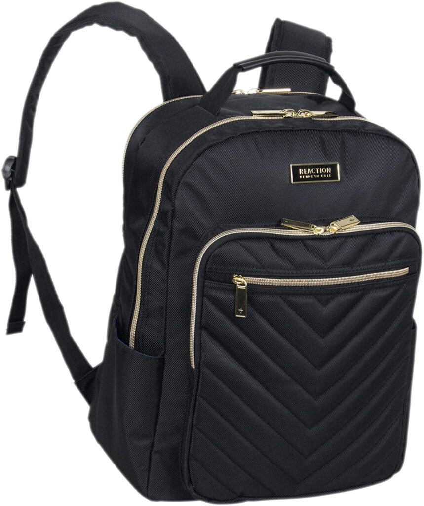 Kenneth Cole Chevron Quilted Backpack