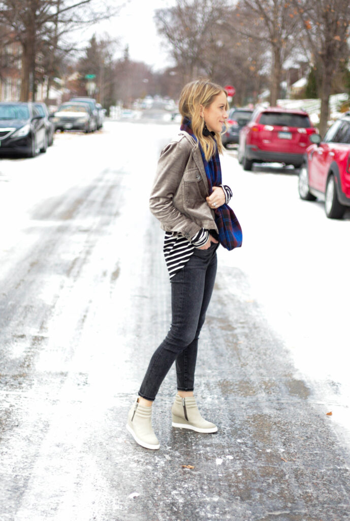 Wintery Layered Look
