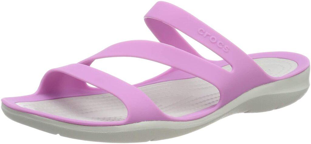 crocs women's swiftwater sandals slide