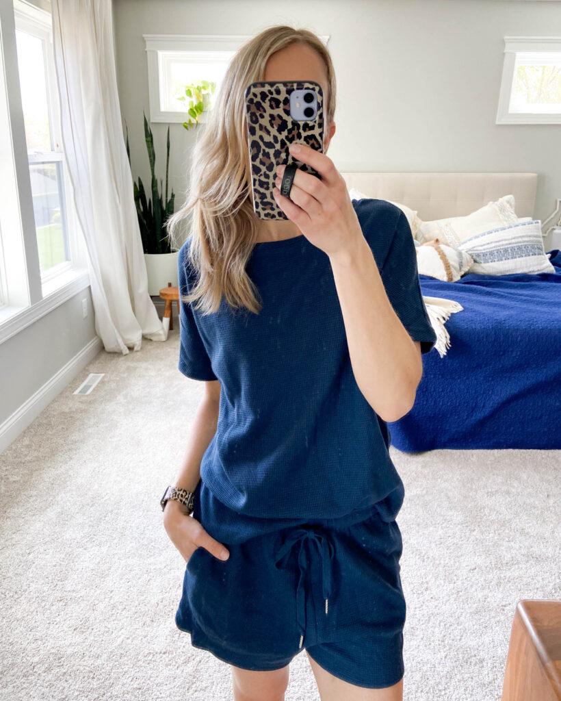 Amazon waffle pajamas