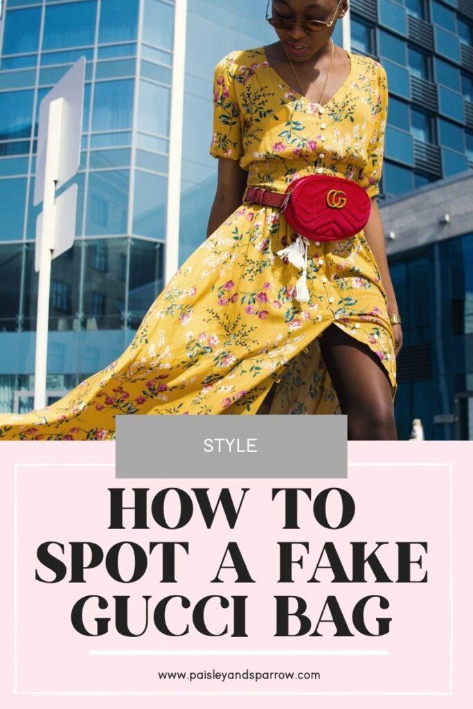 8 Hacks How to Spot a Fake Gucci Bag