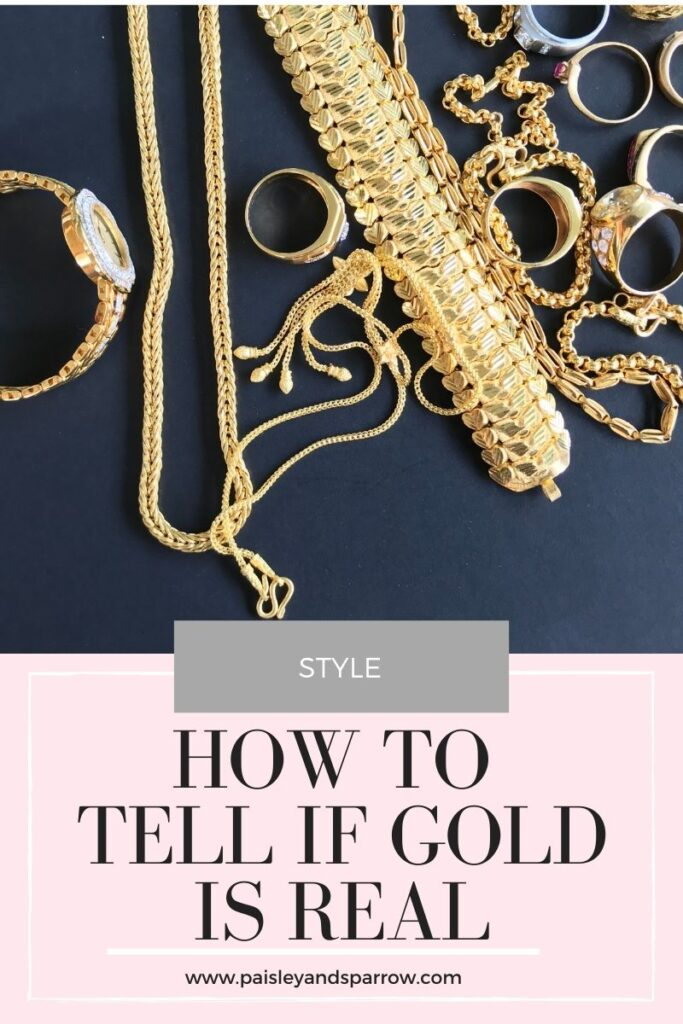 How To Tell if Gold Is Real - 10 Tests