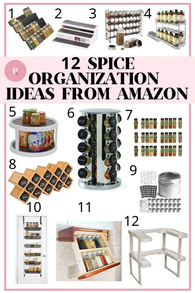 12 Spice Storage Racks & Ideas