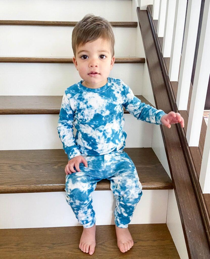 Amazon kids tie dye pajamas