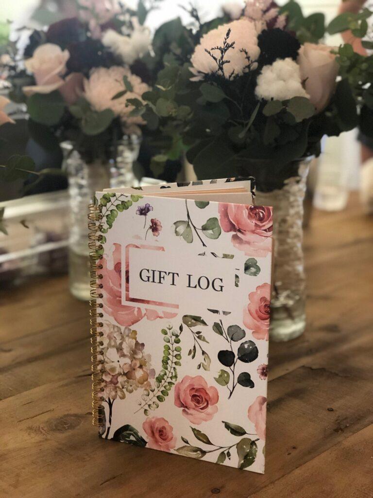 Gift log