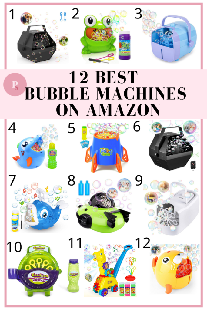 12 Best Bubble Machines for 2021