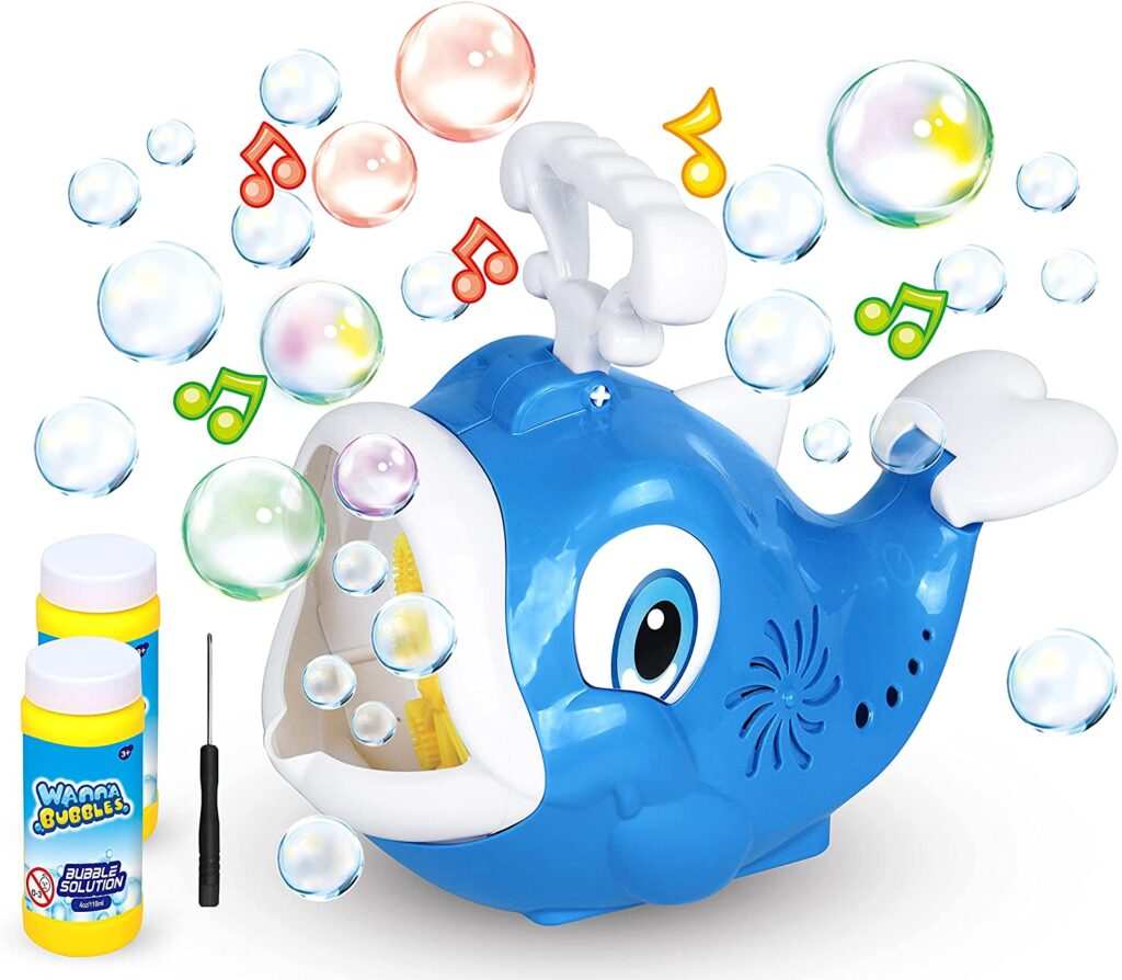 Bubble Machine Fish Bubble Blower