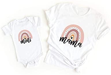 Mama and Mini shirts from Amazon