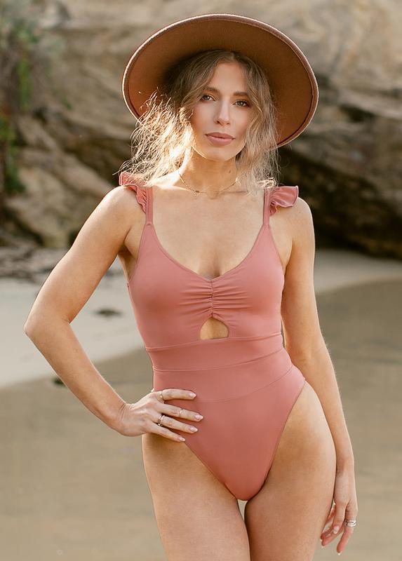 Joy Fille woman's ruffled swimsuit