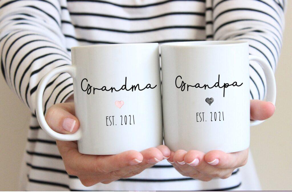 grandma and grandpa mugs
