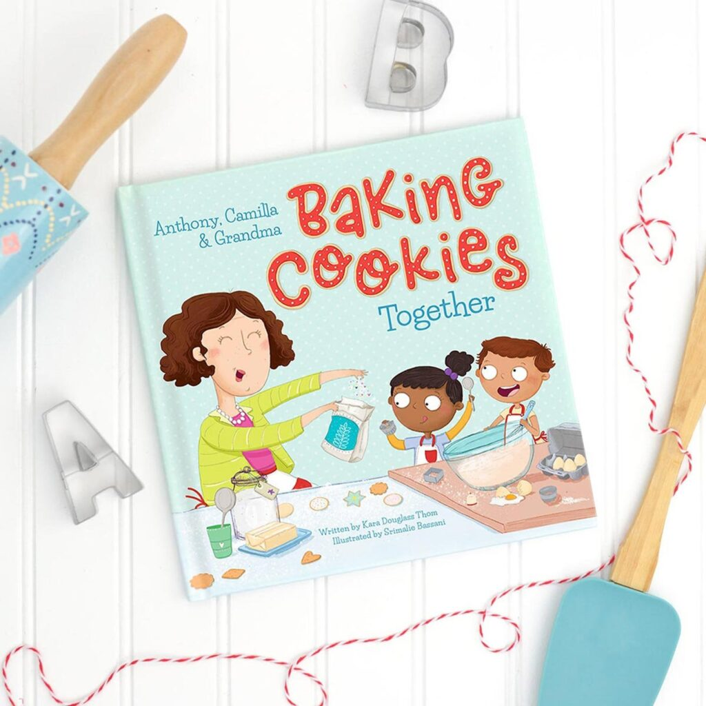 baking cookies together book