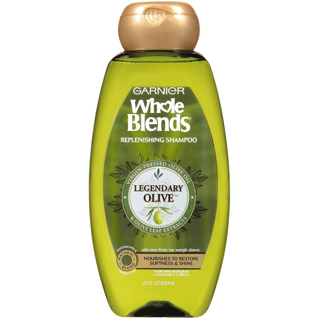 Garnier Whole Blends Replenishing Shampoo for dry thick hair