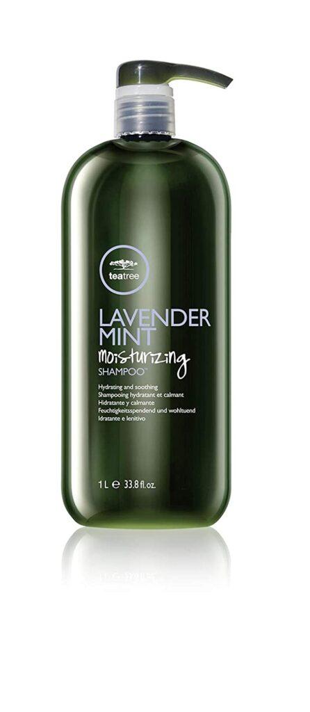 Tea Tree Lavender Mint moisturizing shampoo for coarse thick hair