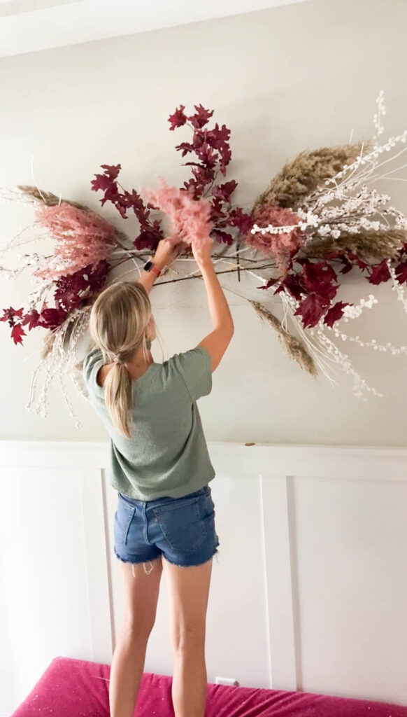 hanging dried florals