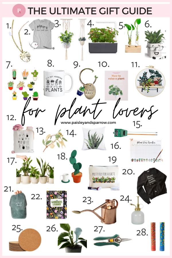 28 Perfect Gifts for Plant Lovers - Unique Plant Ideas 2021